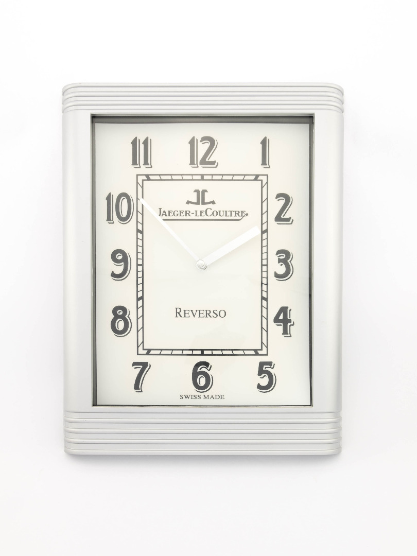 Jaeger Lecoultre Reverso Wall Clock Display For Dealers Watch Time