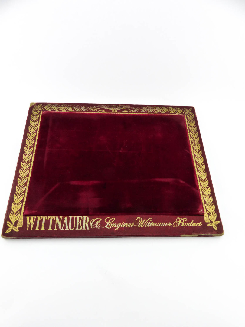 Longines / Wittnauer - Vintage dealer tray from Wittnauer Longines ...